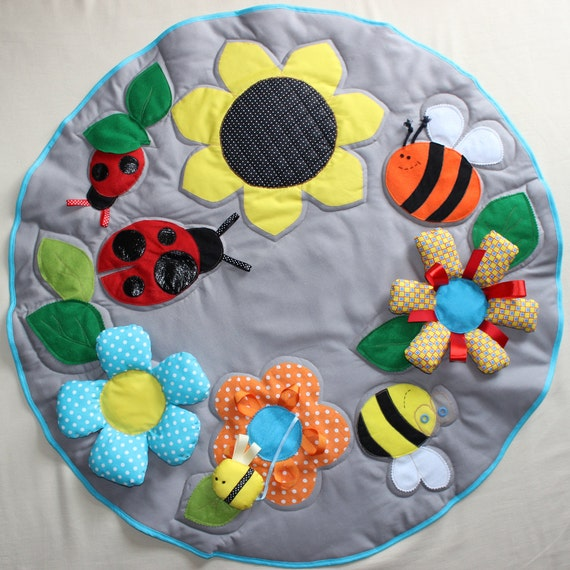 baby playmat montessori baby gym sensory toys activity. Black Bedroom Furniture Sets. Home Design Ideas
