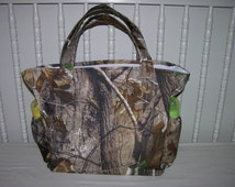 New Diaper Bag m/w Real Tree Camoflauge Camo Fabric