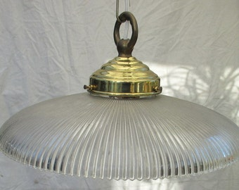 original antique industrial lighting in glass