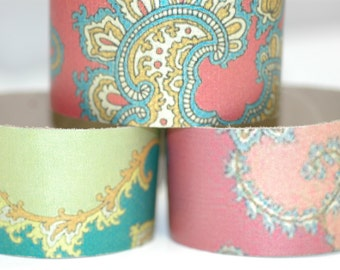 """Wonderfully colored Bohemian leather bracelets-1.5"""" x 9"""" Genuine Leather Cuff-3 pack"""
