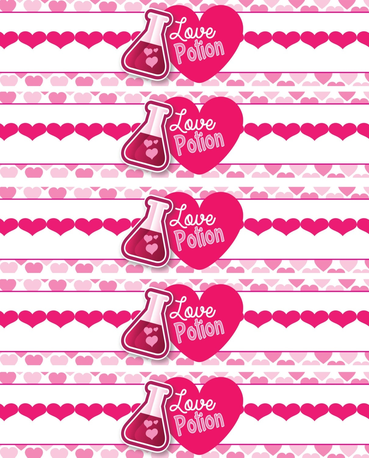 This is a graphic of Terrible Valentine Labels Printable