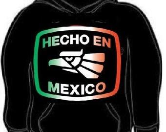 hecho en mexico hoodie sweatshirt unisex made in mexico