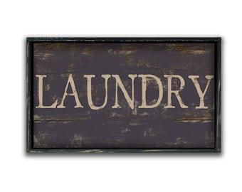 Handmade Wood Laundry Sign Laundry decor mudroom signs mudroom decor rustic laundry signs industrial style laundry signs Laundry room signs