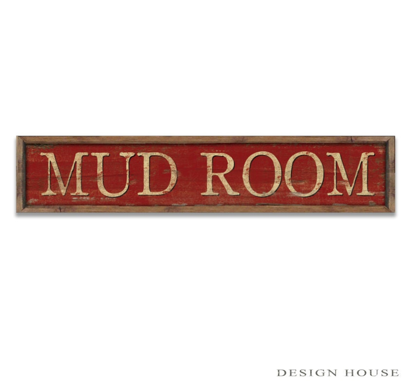Mudroom signs mudroom decor laundry room decor laundry room for Room decor signs