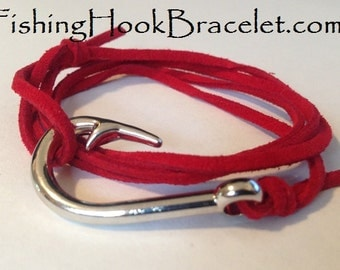 Fishing Hook Bracelet Nautical Jewelry