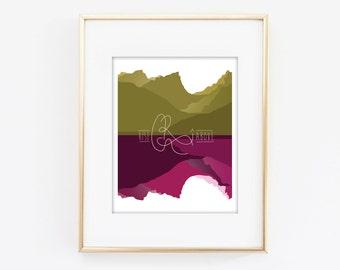 rise above - 8x10 art print