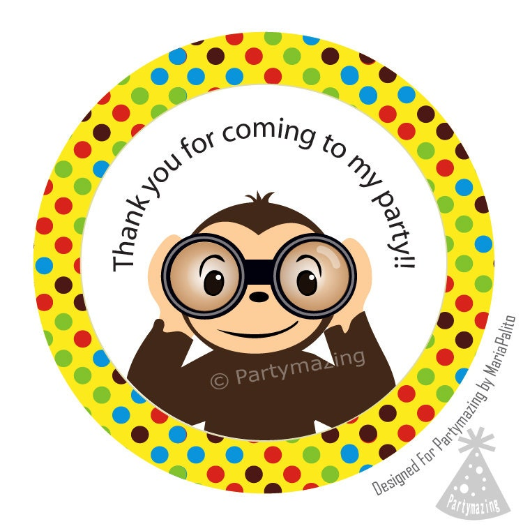 Free Curious George Printable Box By Partymazing Dont Miss Some Other