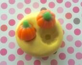 PUMPKIN Silicone MOLD - Cake Decoration, Pumpkin Mold, Fondant Mold, Candy Mold, Chocolate Mold, Cupcake Topper, Cake Topper