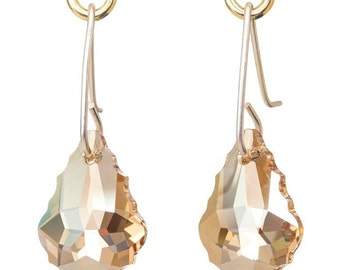 Plain Swarovski crystal drops - Range of Colours Available!
