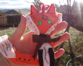 Fox Plush/ Fox stocking stuffer/ Fox Ornament