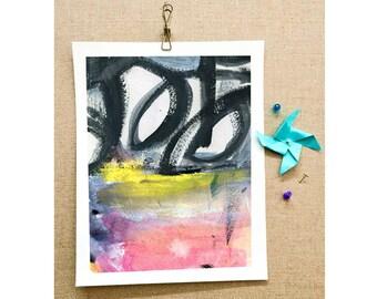 MashUp Abstract Art Print