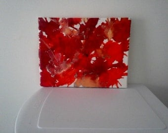 Melted Crayon Art Fall colors Twenty nine