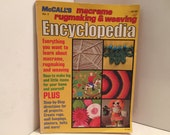 1950 McCalls Book, Volume 3, Macrame Rugmaking Weaving Encyclopedia, Editors of McCalls Magazines