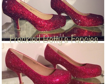 Dorothy inspired heels