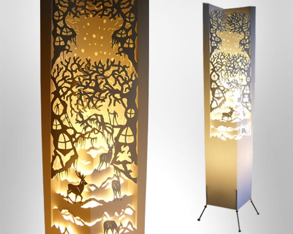 Floor Lamp Magic Forest Lamp Free Shipping By