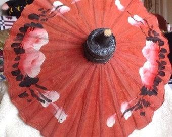 Victorian Colorful Doll Umbrella