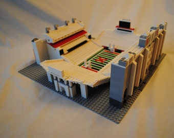 Nebraska Memorial Stadium, Brick model