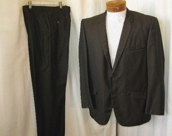 Early 1960's  Pinstripe Suit