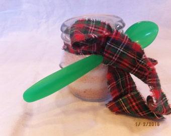 Homemade Peppermint Sugar Scrub