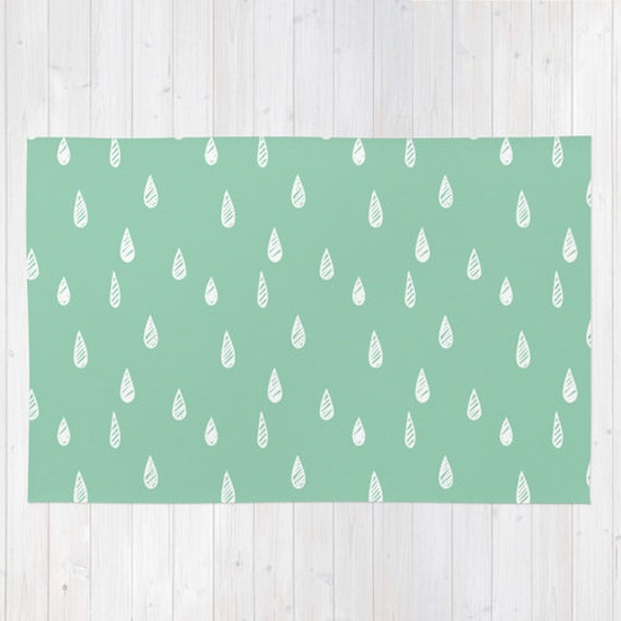 Nursery Rugs, Rugs for Nursery, Raindrop rug, Nursery Rug, Nursery Decor, Cute Rug, Decorative Rug, Modern Rug, Playroom Rug, Kids Room Rug