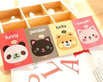 Cat Notebooks, Panda Notebooks