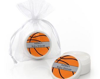 Basketball Lip Balm Party Favors - Baby Shower and Birthday Party Supplies - 12 Count