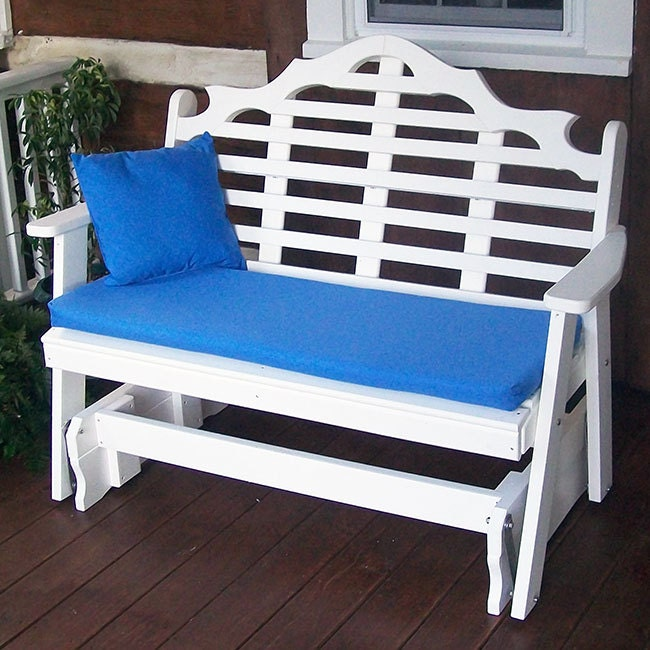 Recycled Plastic Marlboro 4ft Porch Glider