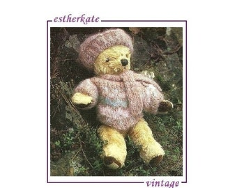 Build A Bear Sweater Pattern To Knit 71