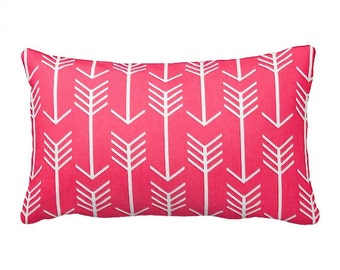 7 Sizes Available:  Pink Cushion Cover Pink Throw Pillow Cover Pink Accent Pillow Pink Pillow Cover Pink Sofa Pillow  20x20 18x18 12x24