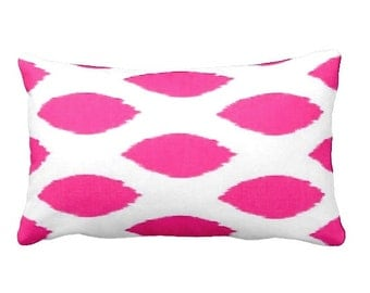 7 Sizes Available: Hot Pink Pillow Cover Pink Throw Pillows Pink Accent Pillows Decorative Pillow Covers Pink Cushion Covers Lumbar Pillow