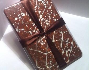 Milk Chocolate, toasted hazelnut 500g slab.