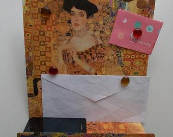 Display for magnets, magnets, organizer Klimt