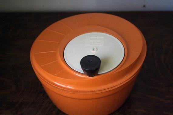 essoreuse salade orange moulinex retro vintage des ann es. Black Bedroom Furniture Sets. Home Design Ideas