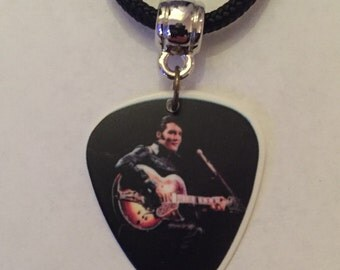 Elvis Presley Guitar Pick Necklace
