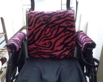 Handmade Wheelchair Back Cushion or Cover only. Custom Made!