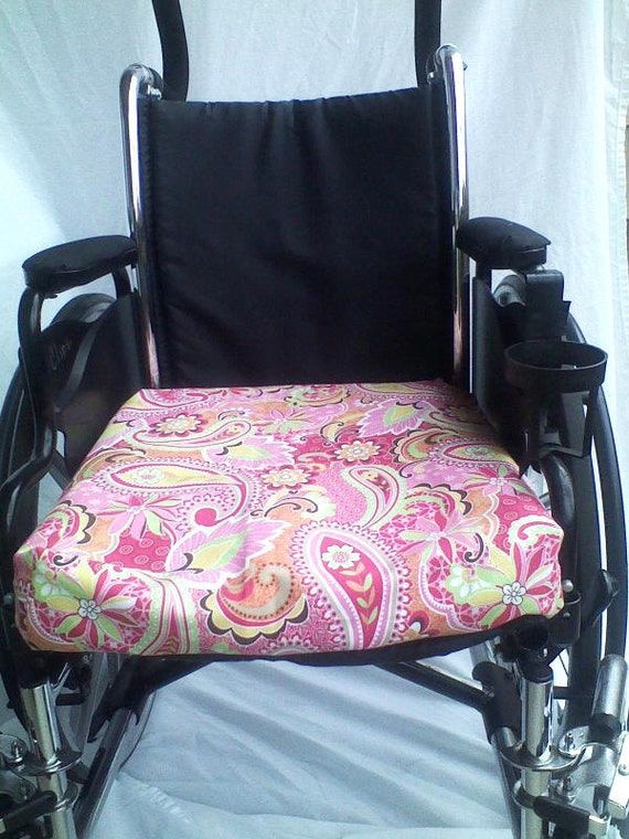 Wheelchair seat cushion covers variety of patterns broadcloth
