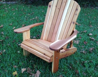 """Beautiful 23"""" seat Adirondack Chair for deck or patio"""