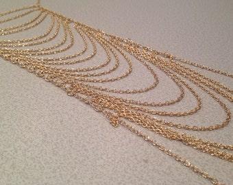 Multi Strand Body Chain Jewelry