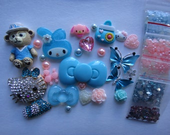 Deco Den Kit  Blue  Hello Kitty Melody Butterfly 4373