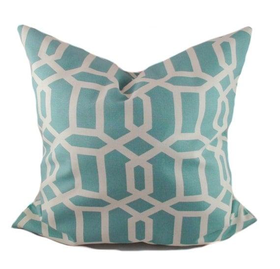 Blue Throw Pillow 20x20 : Blue pillow 20x20 Pillow cover Decorative pillows by PillowCorner