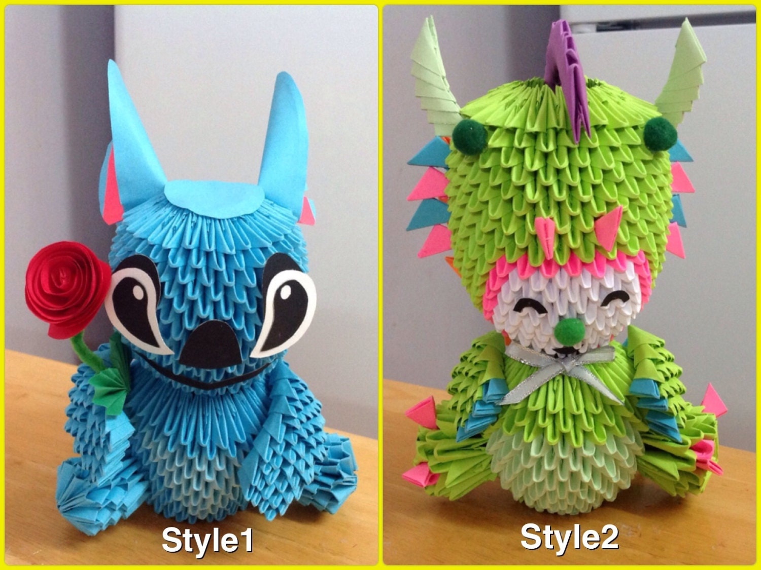 3D Origami : Animal / Cartoon - photo#41