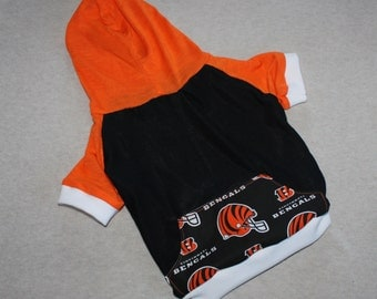 Cincinnati Bengals Dog Hoodie / Personalization Available!