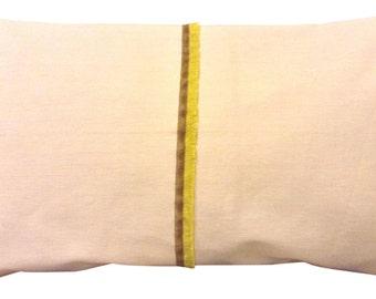 Camengo Prabang Yellow Bolster Cushion Cover