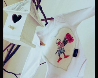 Baby kit - Bodysuit and cotton cloth