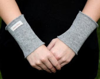 Cashmere Arm Warmers without thumbhole, cashmere gloves, fingerless gloves, handwarmers, present for her, handmade