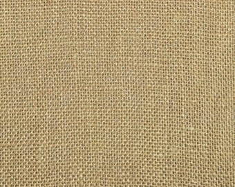 Natural Sultana Burlap Fabric - By the Yard