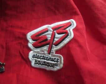 Vintage Electronics Boutique 1/2 Zip Pullover Starter Jacket