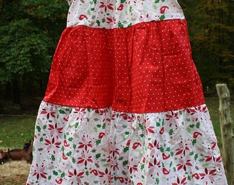 Girls size 8 Christmas dress