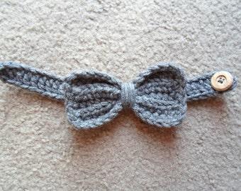 Textured Bow-Tie.  Sizes Newborn-12 Months