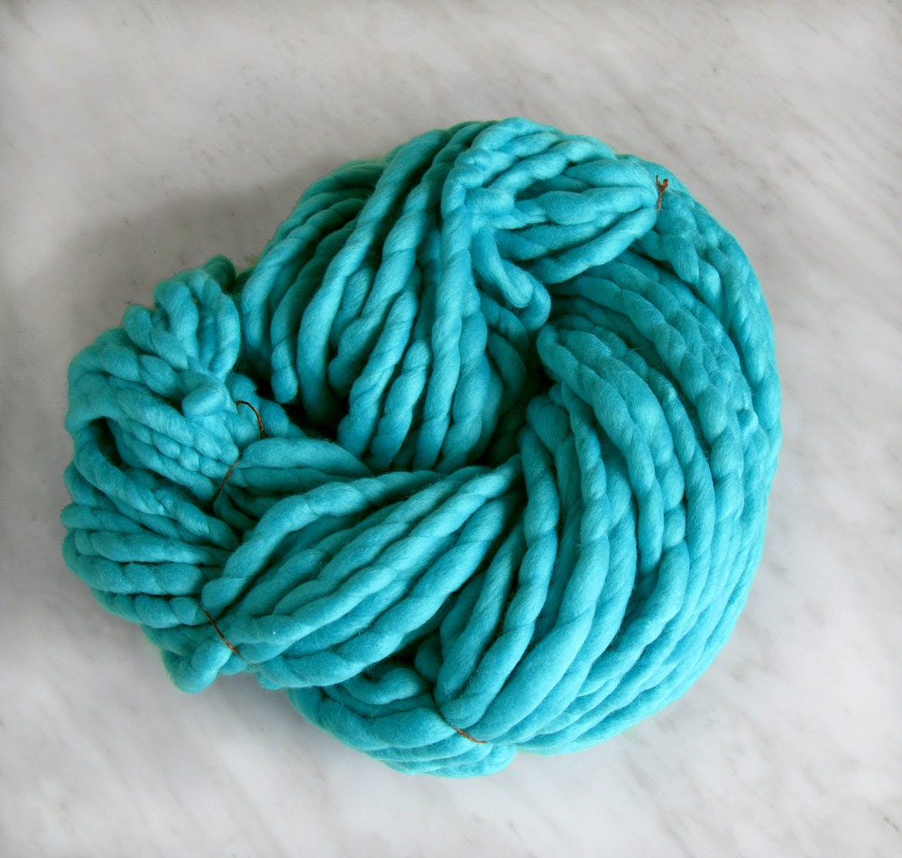 Super Bulky Yarn : Super Bulky yarn Extra chunky yarn ATLAS treal 16oz by Manonspun